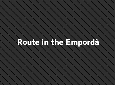 Route in the Empordà by car